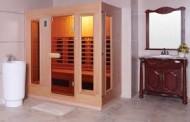 Phòng xông hơi hồng ngoại nên bố trí ở đâu trong nhà?