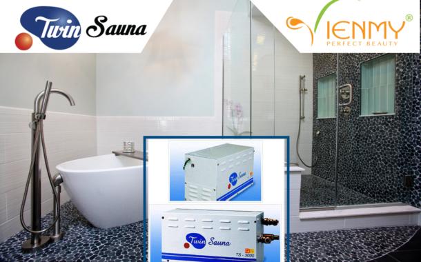 Máy xông hơi ướt Twin Sauna – chất lượng Hàn Quốc dành cho gia đình Việt