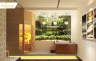 Hưởng thụ spa tại nhà cùng bồn tắm massage.