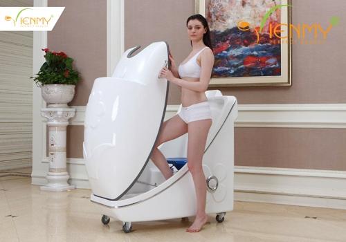 Máy phi thuyền tắm trắng toàn thân tạo dịch vụ Spa ấn tượng