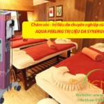 Điều gì tạo nên sự khác biệt từ Máy Aqua Peeling trị liệu da Synergy+?