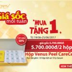 Giá Sốc Mỗi Tuần: Mua 1 tặng 1 Hộp Serum Venus Peel CareCella